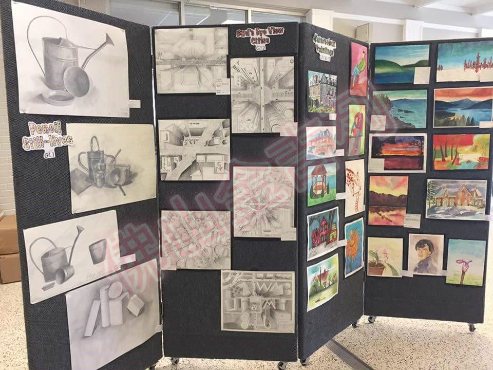 成功案例留学-社团高中生分享加拿大高中艺术工作计划心理图片